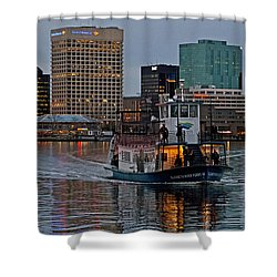 The Ferry To Portsmouth Shower Curtain