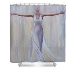 The Fight Is Won Shower Curtain