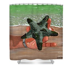 The Find Shower Curtain by Laura Forde