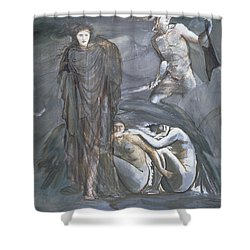 The Finding Of Medusa, C.1876 Shower Curtain by Sir Edward Coley Burne-Jones