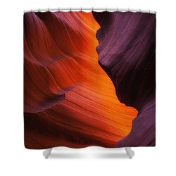 The Fire Within Shower Curtain by Darren  White