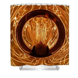 The Fire Within Shower Curtain by Newel Hunter