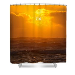 The First And The Last Shower Curtain