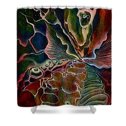 The First Sound Shower Curtain