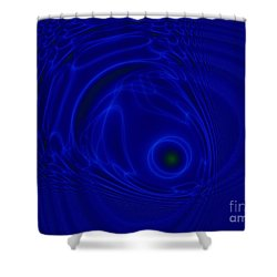 The Fish Shower Curtain by Peter R Nicholls