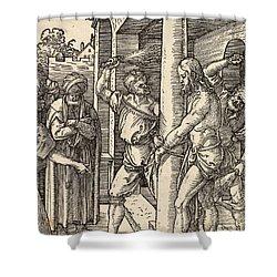 The Flagellation Shower Curtain by Albrecht Durer
