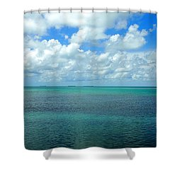 The Florida Keys Shower Curtain
