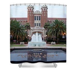 The Florida State University Shower Curtain