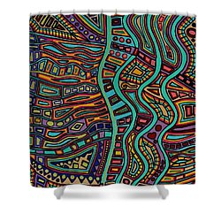 The Flow Shower Curtain