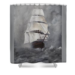 The Flying Dutchman Shower Curtain