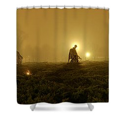 The Fog Of War #1 Shower Curtain