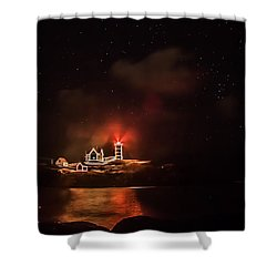 Shower Curtain featuring the photograph The Fog Rolls In by Jeff Folger