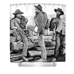The Forgotten Soldiers Shower Curtain
