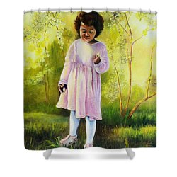 The Forsythia Shower Curtain