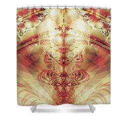 The Fountain Of Youth Shower Curtain by Anastasiya Malakhova