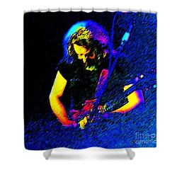 The Four Winds  Shower Curtain by Susan Carella