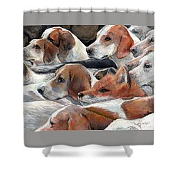 Fox Play Shower Curtain