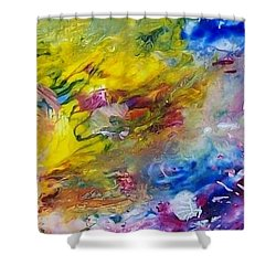 The Frequency Of Joy Shower Curtain