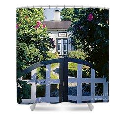 The Front Garden Shower Curtain by Heiko Koehrer-Wagner
