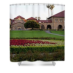 The Front Of Stanford University Shower Curtain