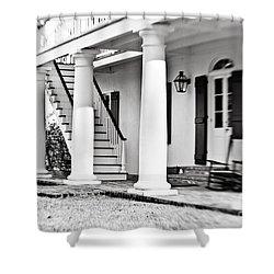 The Front Porch Shower Curtain by Scott Pellegrin