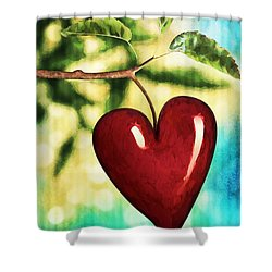 The Fruit Of The Spirit Shower Curtain