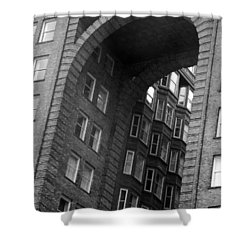 The Fulton Building Shower Curtain by Joyce  Wasser