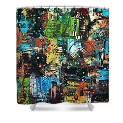 The Games People Play Shower Curtain