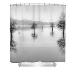 The Garden Dream Shower Curtain by Debra and Dave Vanderlaan