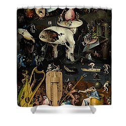 The Garden Of Earthly Delights. Right Panel Shower Curtain