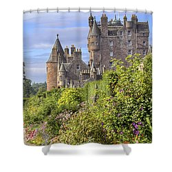The Garden Of Glamis Castle Shower Curtain by Jason Politte