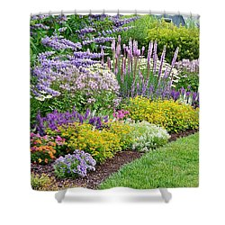 The Gardens Of Bethany Beach Shower Curtain