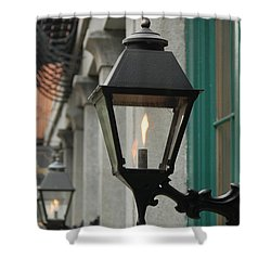 The Gas Light Shower Curtain