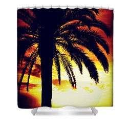 The Gates Of Hell Shall Not Prevail Shower Curtain by Sharon Soberon