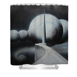 The Gateway Shower Curtain by Tim Mullaney