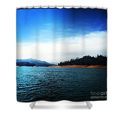 Shower Curtain featuring the photograph The Getaway by Luther Fine Art