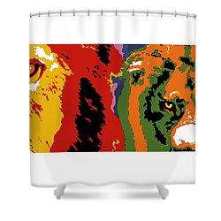 The Ghost And The Darkness Shower Curtain