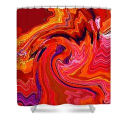 The Glory Of A Sunrise  Shower Curtain