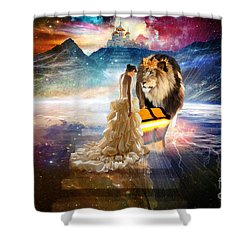 The Glory Season Shower Curtain