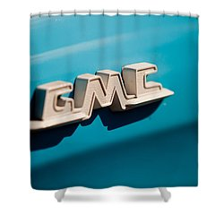 The Gmc Shower Curtain by Melinda Ledsome