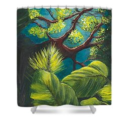 The Goblin Market Restaurant Tree Mt. Dora Shower Curtain