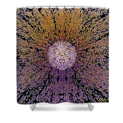 The God Particle Shower Curtain by Michael Durst