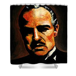 Godfather Shower Curtain