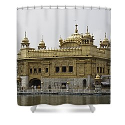 The Golden Temple In Amritsar Shower Curtain by Ashish Agarwal