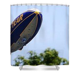 The Goodyear Blimp N3a Shower Curtain