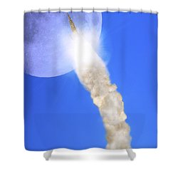 The Gothic Rocket Ship - Walter Scott Monument Shower Curtain