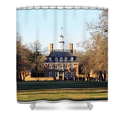 The Governor's Palace Shower Curtain