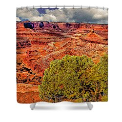 The Grand Canyon Dead Horse Point Shower Curtain by Bob and Nadine Johnston