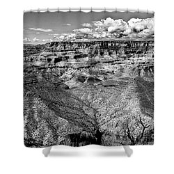 The Grand Canyon Shower Curtain by Bob and Nadine Johnston
