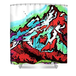 The Grand From Jackson Lake Shower Curtain